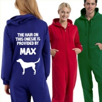 Personalised Onesie - Dog Hair Provided By