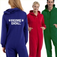 Slogan Onesie - Home Is Where The Dog Is