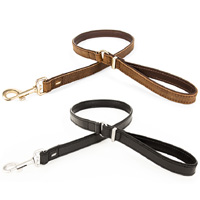 Oxford Natural Leather Dog Lead