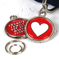Pawesome Pet Tag - Heart