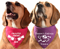 Personalised Christmas Dog Bandana
