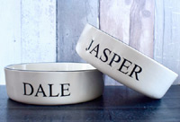 Personalised Dog Bowl - Classic