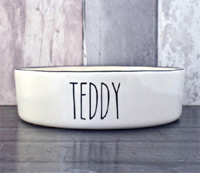 Personalised Dog Bowl - Skinny