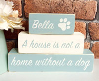 Personalised Dog Shelf Sitters