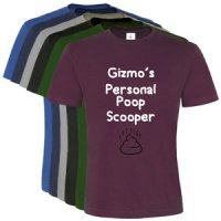 Unisex Personalised T-Shirt - Personal Poop Scooper