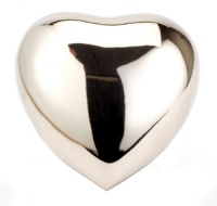 Keepsake Urn Nickel Heart
