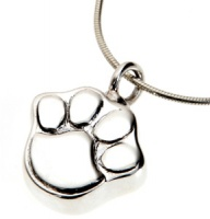 Pet Cremation Jewellery Necklace Mayfair Paw