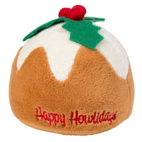 Christmas Pudding Dog Toy