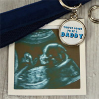 Pregnancy Reveal Dog Tag