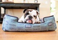 Dog's Life Rectangular Dog Bed