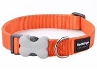 Red Dingo Orange Dog Collar