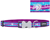 Red Dingo Dog Collar Unicorn