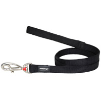 Red Dingo Black Dog Lead