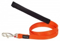 Red Dingo Orange Dog Lead