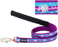 Red Dingo Dog Lead Unicorn