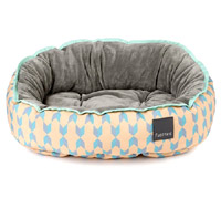 FuzzYard Reversible Dog Bed - Chelsea