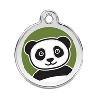 Small Dog ID Tag - Panda