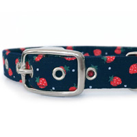 Juicy Strawberries Dog Collar