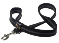 Faux Suede Black Dog Lead
