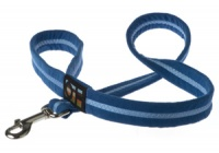 Faux Suede Royal Blue Dog Lead