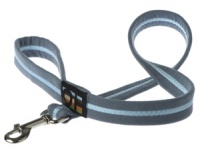 Faux Suede Sky Blue Dog Lead