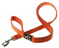 Faux Suede Clementine Orange Dog Lead