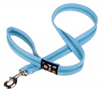 Faux Suede Ocean Breeze Dog Lead