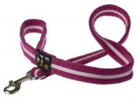 Faux Suede Hot Pink Dog Lead