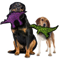 Tuffy Dog Toys - Dinosaur