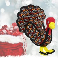 Tuffy Talulah Turkey Dog Toy