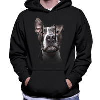 Unisex Dog Lover Hoodie - Blue Nose