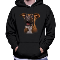 Unisex Dog Lover Hoodie - Boxer