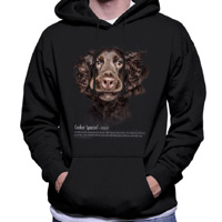 Unisex Dog Lover Hoodie - Cocker Spaniel