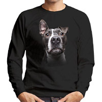 Unisex Dog Lover Sweatshirt - Blue Nose