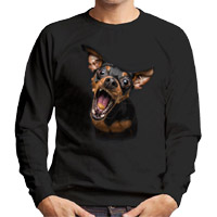 Unisex Dog Lover Sweatshirt - Miniature Pinscher