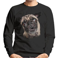 Unisex Dog Lover Sweatshirt - Pug