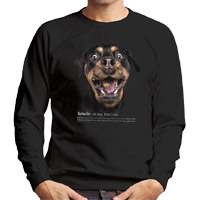 Unisex Dog Lover Sweatshirt - Rottweiler