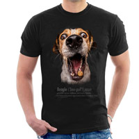 Unisex Dog Lover T-shirt - Beagle