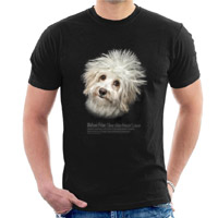 Unisex Dog Lover T-shirt - Bichon Frise