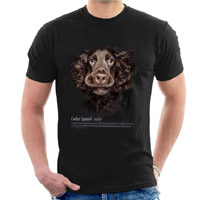 Unisex Dog Lover T-shirt - Cocker Spaniel