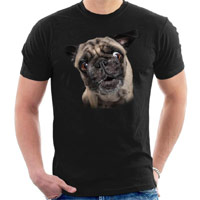 Unisex Dog Lover T-shirt - Pug