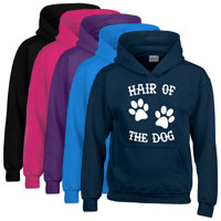 Unisex Slogan Hoodie - Hair of the Dog