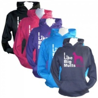 Unisex Slogan Hoodie - I Like Big Mutts