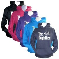 Unisex Slogan Hoodie - The Dogfather