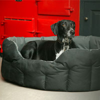 P&L Country Dog Waterproof Dog Bed - Oval