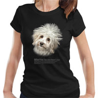 Women's Dog Lover T-shirt - Bichon Frise