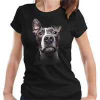 Women's Dog Lover T-shirt - Blue Nose
