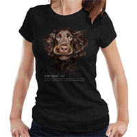 Women's Dog Lover T-shirt - Cocker Spaniel