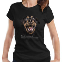 Women's Dog Lover T-shirt - Rottweiler