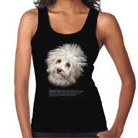 Women's Dog Lover Vest Top - Bichon Frise